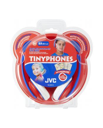 Słuchawki dla dzieci JVC HA-KD7-R-E  czerwono-nieb.