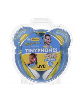 Słuchawki dla dzieci JVC HA-KD7-Y-E  żółto-nieb.