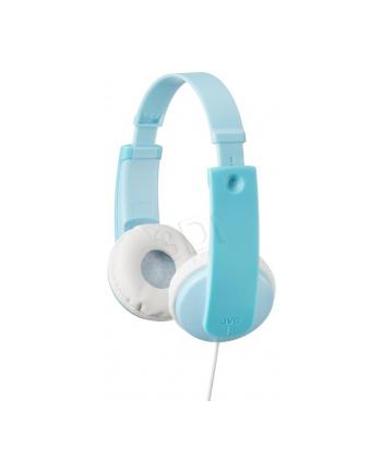 Słuchawki dla dzieci JVC HA-KD7-Z-E  zielono-białe.