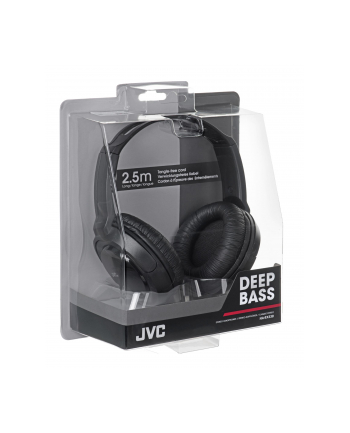Słuchawki JVC HA-RX330-E nauszne czarne