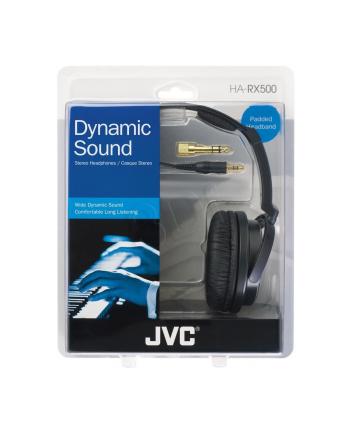 Słuchawki JVC HA-RX500-E nauszne czarno-białe