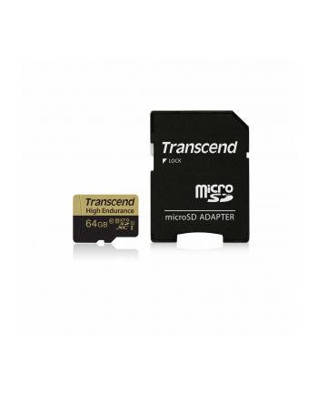 Memory card Transcend microSDXC, 64 GB, Class 10, 21 MB/s / 20 MB/s