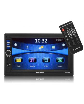 RADIO AVH-9880 2DIN 7'' GPS