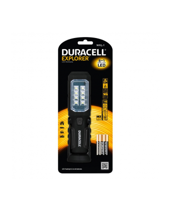 Duracell Latarka LED EXPLORER WKL-1, system handfree + 3x AA