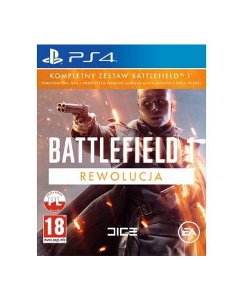 EA Gra PS4 Battlefield 1 Rewolucja