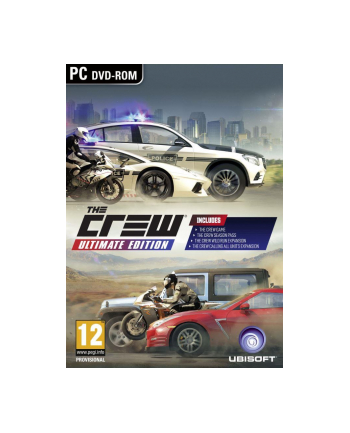 UbiSoft Gra PC The Crew Ultimate ED.