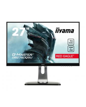 IIYAMA 27''GB2760QSU-B1 TN,WQHD,HDMI,DP,USB,144Hz,ETE.