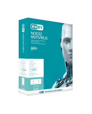 ESET NOD32 Antivirus PL Box 1U 2Y    ENA-N-2Y-1D