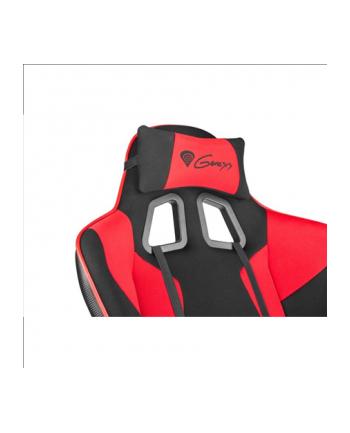 NATEC Fotel dla graczy GENESIS SX77 Black/Red