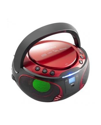 LENCO SCD-550 czerwony BT