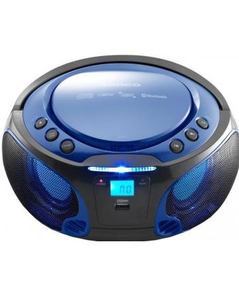 LENCO SCD-550 niebieski BT