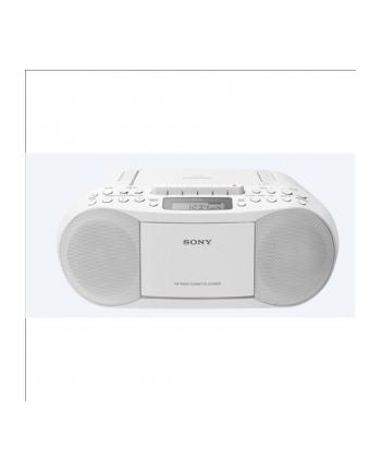 Sony Radiomagnetofon CD CFD-S70 biały
