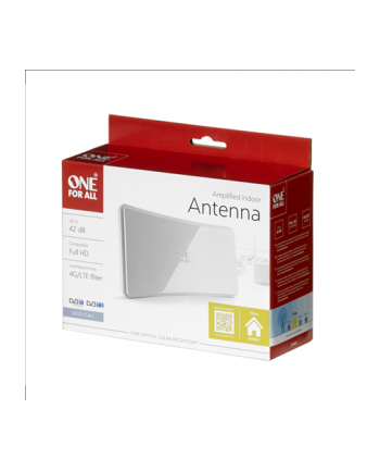 One For All Antena wewnętrzna OFA wzmocnienie 42db