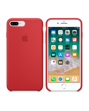 Apple iPhone 8 Plus / 7 Plus Silicone Case - (PRODUCT)RED