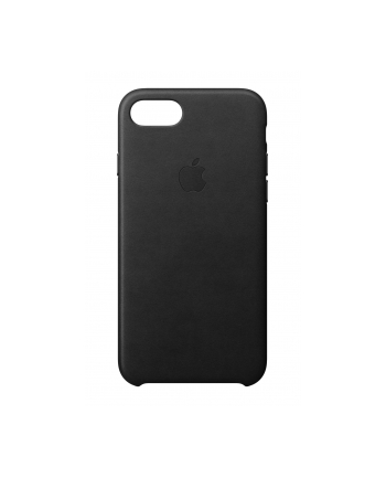 Apple iPhone 8 / 7 Leather Case - Black
