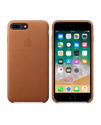 Apple iPhone 8 Plus / 7 Plus Leather Case - Saddle Brown
