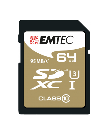 EMTEC SDXC SPEEDIN 64GB Class10 95MB/s UHS-I U3