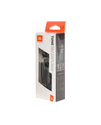 Słuchawki douszne z mikrofonem JBL T110 (czarne)