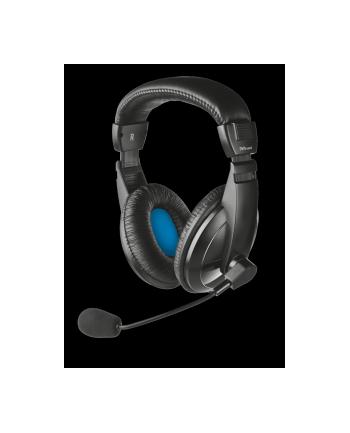 Słuchawki nauszne z mikrofonem Trust Quasar Headset 21661 (czarne)
