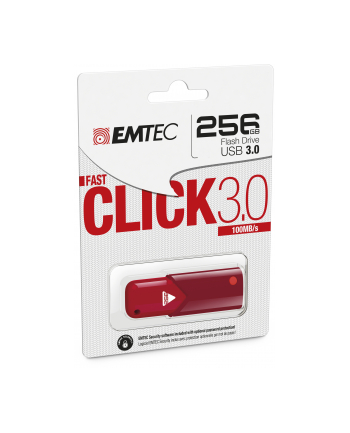 EMTEC FLASH CLICK FAST B100 256GB USB 3.0 RED