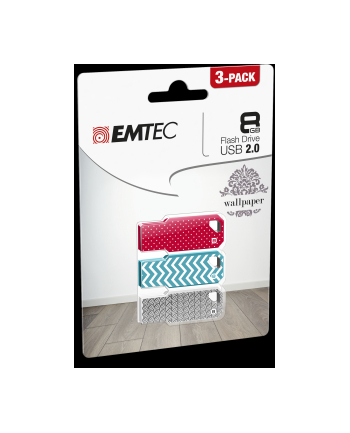 EMTEC FLASH WALLPAPER P3 M750 8GB USB 2.0