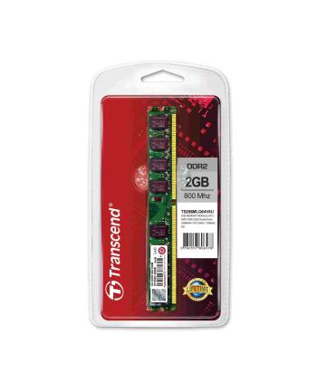 Transcend 2GB 800Mhz DDR2 Non-ECC CL5 DIMM  BOX
