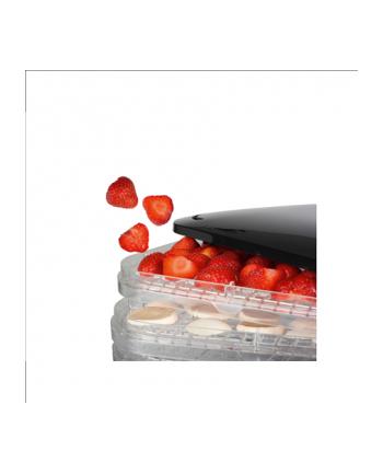 suszarka do grzybów warzyw owoców i ziół Princess 112380 (350W czarny)