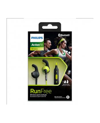 Słuchawki douszne z mikrofonem Philips SHQ6500CL/00 (żółte Bluetooth)