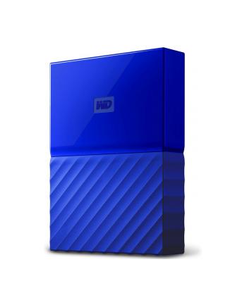 Dysk zewnętrzny WD MY PASSPORT WDBYFT0040BBL 4000GB 2 5  USB 3.0 Niebieski