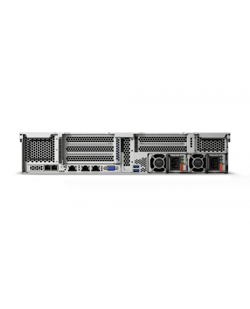 Lenovo SR550 4110 8C 1x Intel Xeon Silver 4110 8 Cores 2.1GHz, 16GB DDR4, 1x 930-8i 2GB flash, 1xLP x8, Front VGA, TPM 1.2, XClarity Advanced, 1x 750W Platinum