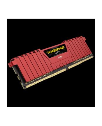 Pamięć DDR4 Corsair Vengeance LPX 4GB (1x4GB) 2400MHz CL16 1,2V czerwony