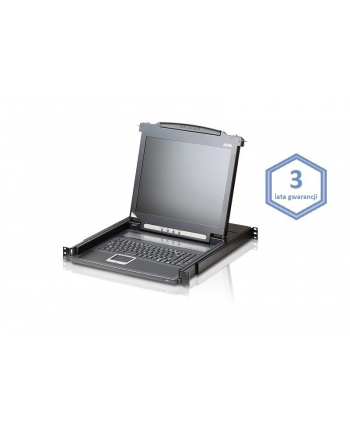 Konsola LCD 19'' KVM ATEN CL1000N-ATA-AG 3 lata gwarancji PROMOCJA