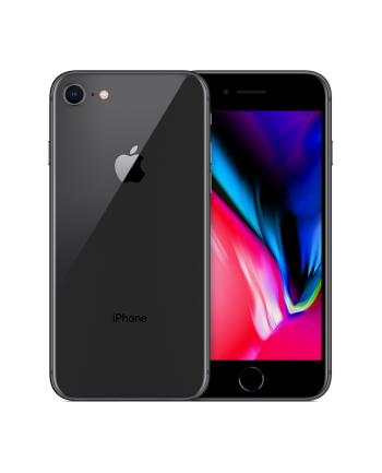 Apple IPHONE 8 64GB 11.938 cm (4.7 '' ) , 1334 x 750, Retina HD, A11 + M11, 64GB, Touch ID, 802.11ac, Bluetooth 4.2, NFC, 12MP + 7MP, iOS 11