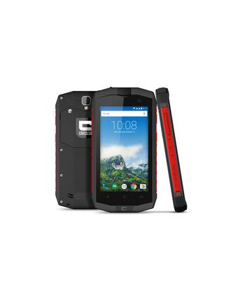 CROSSCALL TREKKER M1 CORE BLAC LTE Smartphone mit Android 6.01. 4,5 IN Display. 2GB RAM, 16GM ROM. Dual-SIM. Spritzwasserdicht und stosssicher (IP67). 8MP Kamera + 2MP Front-Kamera.