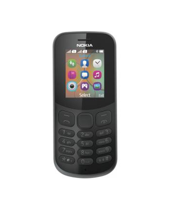 NOKIA 130 DUAL NEW 4.572 cm (1.8 '' ) QQVGA, 4MB RAM, MicroSD, GSM 900/1800, Dual SIM, Micro-USB, 3.5mm, Bluetooth 3.0, 1020 mAh, Black