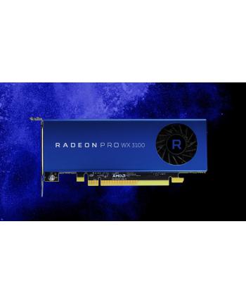 AMD RADEON PRO WX 3100 4GB GDDR5 Radeon Pro WX 3100, 1219 MHz, 4 GB GDDR5, 128-bit, 96 GB/s, DP 1.4, 2x Mini DP, HDCP, 1 slot