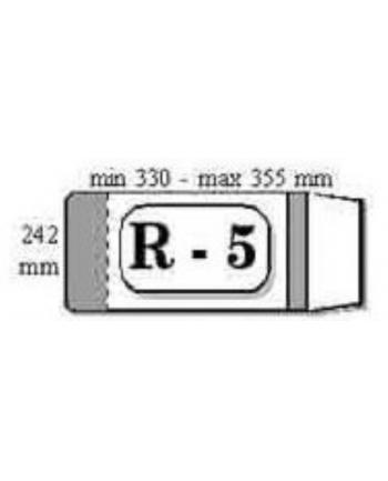 Okładka książkowa reg.R-5 IKS 1szt