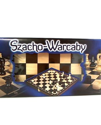 Szacho-warcaby 36cm. MAGIERA