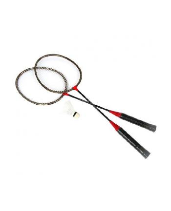 Badminton metalowy x2 w pokrowcu. SPOKEY