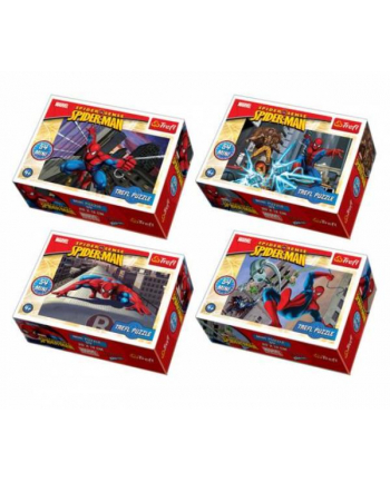 Puzzle 54el Mini Spiderman 19372/19373/19374/19375 Trefl