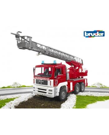 MAN pożarniczy z drabiną, pompą i sygnalizacją 02771 BRUDER