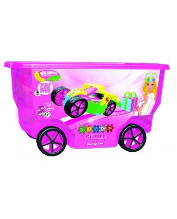 Klocki CLICS Rollerbox glitter CB-415