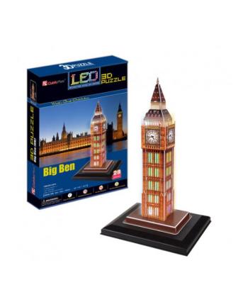 Puzzle 3D LED Zegar Big Ben 20501 DANTE p.12