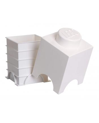 Pojemnik LEGO 1 biały
