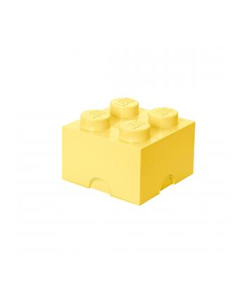 Pojemnik LEGO 4 jasnożółty