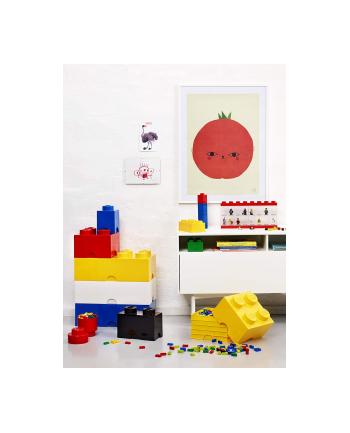 Pojemnik LEGO 1 okrągły czerwony