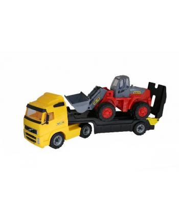 Polesie WADER 36803 Ciężarówka z przyczepą + ładowarka w siatce