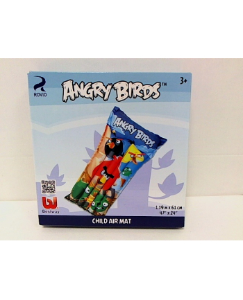 Materac 119x61cm Angry Birds 96104