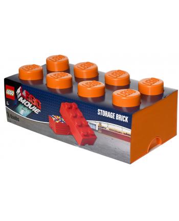 Pojemnik LEGO 8 pomarańczowy