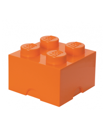 Pojemnik LEGO 4 bright orange